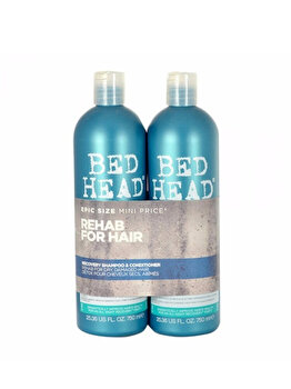 Set Bed Head Recovery: Sampon, 750 ml + Balsam, 750 ml, 1500 ml