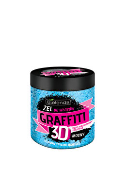 Gel de par Grafitti Strong cu Acid Hialuronic si Keratina, 250 ml poza