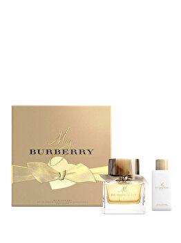 Set cadou Burberry My Burberry (Apa de parfum 50 ml + Lotiune de corp 75 ml), pentru femei imagine produs