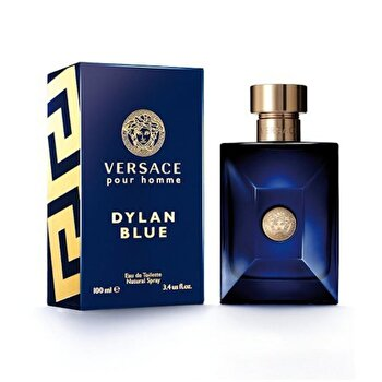 After shave Versace Dylan Blue, 100 ml, pentru barbati imagine produs