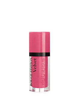 Ruj Bourjois Rouge Edition Velvet, 11 So Hap'pink, 6.7 ml imagine produs