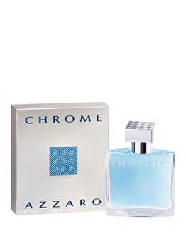 Apa de toaleta Azzaro Chrome, 50 ml, pentru barbati poza
