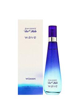 Apa de toaleta Davidoff Cool Water Wave, 30 ml, pentru femei imagine produs