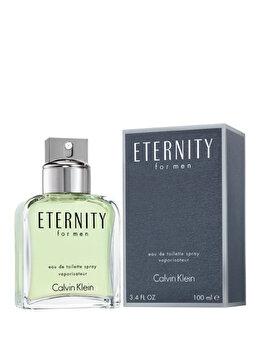 Apa de toaleta Calvin Klein Eternity, 100 ml, pentru barbati imagine produs