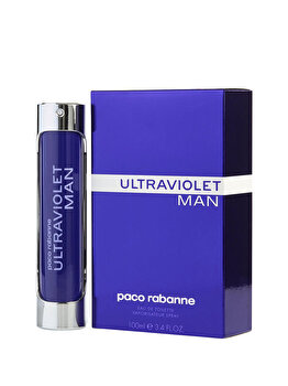 Apa de toaleta Paco Rabanne Ultraviolet, 100 ml, pentru barbati imagine produs