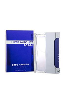 Apa de toaleta Paco Rabanne Ultraviolet Man, 50 ml, pentru barbati imagine produs