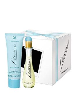 Set cadou laura Biagiotti Laura (Apa de toaleta 25 ml + Lotiune de corp 50 ml), pentru femei imagine produs