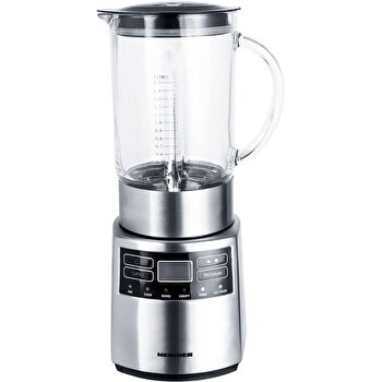 Blender Heinner Master Collection Hbl-1000xmc, 1000 W, 1.5 L, 5 Viteze + Functie Pulse, Argintiu