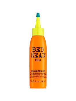 Crema de indreptare a parului cu protectie impotriva umiditatii Bed Head Straighten Out, 120 ml, 120 ml imagine produs