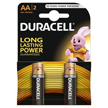 Baterie Duracell Basic AA LR06 2buc poza