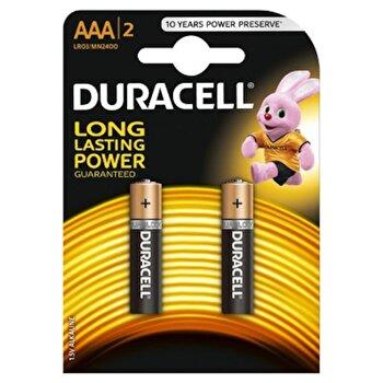 Baterie Duracell Basic AAA LR03 2buc poza