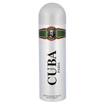 Deospray Cuba Green, 200 ml, pentru barbati imagine produs