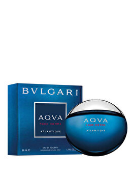Apa de toaleta Bvlgari Aqva Atlantique, 50 ml, pentru barbati imagine produs