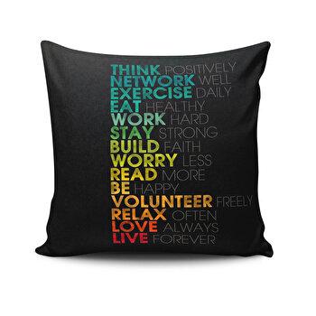 Perna decorativa Cushion Love, 768CLV0161, Multicolor imagine