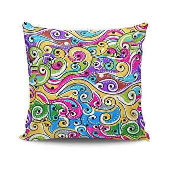 Perna decorativa Kissy, 422KSY0108, Multicolor elefant