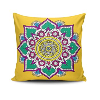Fata de perna Cushion Love, 768CLV0482, 45 x 45 cm, Multicolor imagine