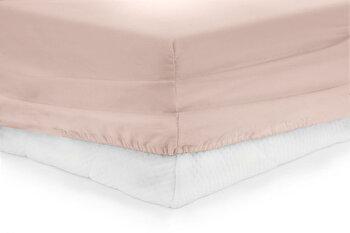 Cearceaf de pat cu elastic, Heinner, HR-ZSHEET-180PK, 180x200 cm, bumbac imagine