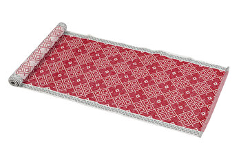 Traversa masa, Heinner, HR-RUN-RED01-180, 33 X 180 cm, bumbac imagine
