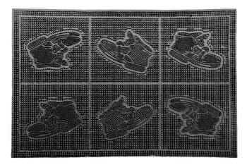 Covoras intrare, Vanora, VN-MCF-40-60B, 40 x 60 cm, cauciuc, Negru