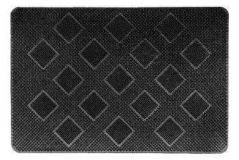 Covoras intrare, Vanora, VN-MCF-40-60R, 40 x 60 cm, cauciuc, Negru