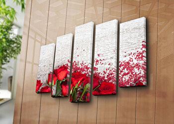 Tablou decorativ Bonanza, 242BNZ4263, Multicolor elefant