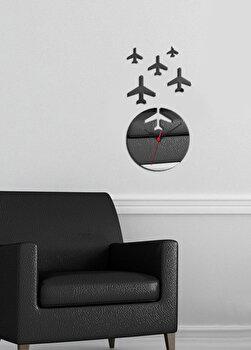 Ceas de perete decorativ Desire 234DSR1519 Argintiu