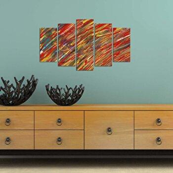Tablou decorativ Charm, 223CHR3937, Multicolor elefant
