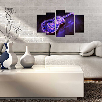 Tablou decorativ (5 Piese) Fascination, 224FSC2915, Multicolor