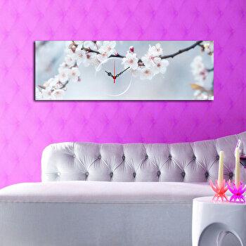 Tablou decorativ cu ceas Clockity, 248CTY1617, Multicolor elefant