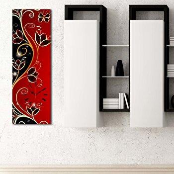 Tablou decorativ cu ceas Clockity, 248CTY1618, Multicolor