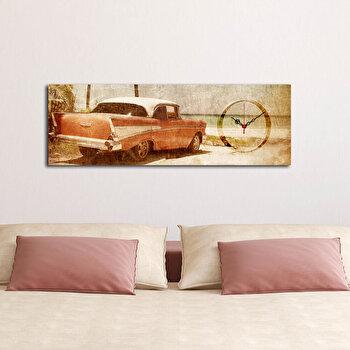 Tablou decorativ cu ceas Clockity, 248CTY1625, Multicolor