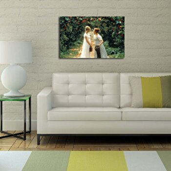 Tablou decorativ Canvart, 249CVT1350, Multicolor imagine