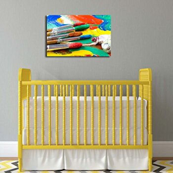 Tablou decorativ Canvart, 249CVT1376, Multicolor