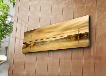 Tablou decorativ canvas Horizon, 237HRZ1256, Multicolor imagine