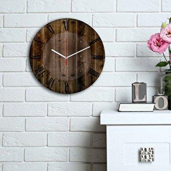 Ceas decorativ de perete Home Art, 238HMA6113, Multicolor imagine