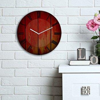 Ceas decorativ de perete Home Art, 238HMA6130, Multicolor imagine