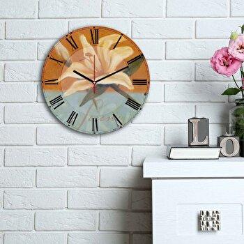 Ceas decorativ de perete Home Art, 238HMA6179, Multicolor elefant