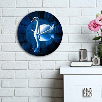 Ceas decorativ de perete Home Art, 238HMA6181, Multicolor imagine