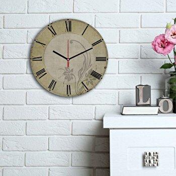Ceas decorativ de perete Home Art, 238HMA6182, Multicolor