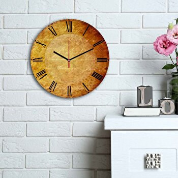 Ceas decorativ de perete Home Art, 238HMA6190, Multicolor elefant