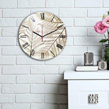 Ceas decorativ de perete Home Art, 238HMA6177, Multicolor elefant