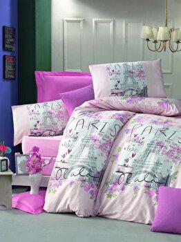 Lenjerie de pat, Victoria, 121VCT2392, Multicolor imagine