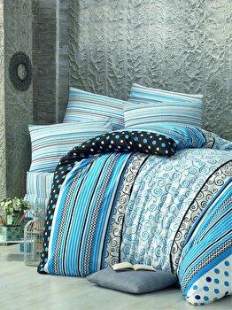Lenjerie de pat, Victoria, 121VCT2488, Multicolor imagine