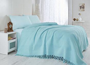 Cuvertura de pat, Saheser, 157SHS5201, Multicolor elefant