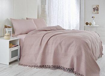 Cuvertura de pat, Saheser, 157SHS5205, Mov