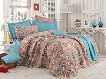 Lenjerie de pat, Eponj Home, 143EPJ5382, Multicolor elefant