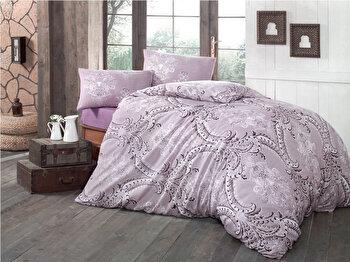 Lenjerie de pat, Victoria, 121VCT2364, Multicolor elefant