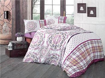 Lenjerie de pat, Victoria, 121VCT2365, Multicolor imagine