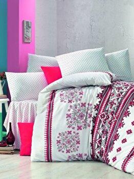 Lenjerie de pat, Victoria, 121VCT2389, Multicolor imagine