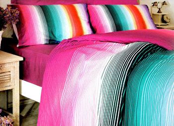 Lenjerie de pat, Victoria, 121VCT2370, Multicolor imagine